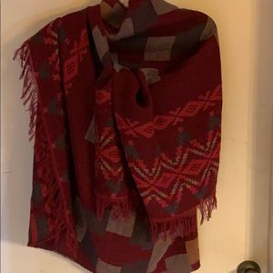 H & M Wool blend shawl wrap